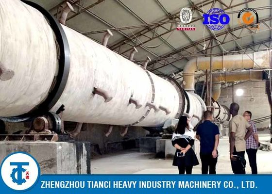 100,000 Tons / Year Rotary Drum Granulator NPK Production Line Ball Shape