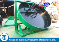 Organic Disc Fertilizer Granulator Machine , Organic Fertilizer Disc Granulator