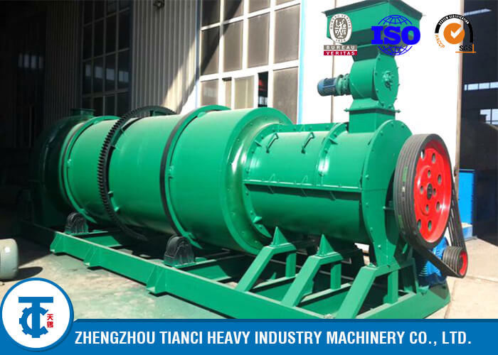 Organic Fertilizer Granulator Machine With Large Output In Fertilizer Production Iine